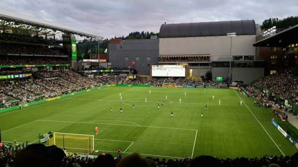 Providence Park, section: 209, row: N, seat: 11