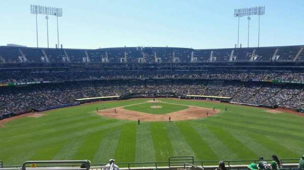 Oakland Coliseum, section: 243, row: 13, seat: 3