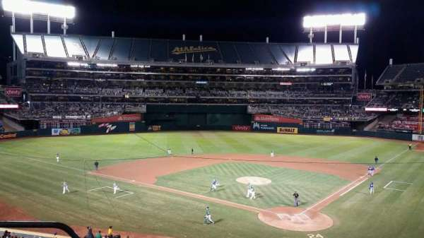 Oakland Coliseum, section: 218, row: 3, seat: 21