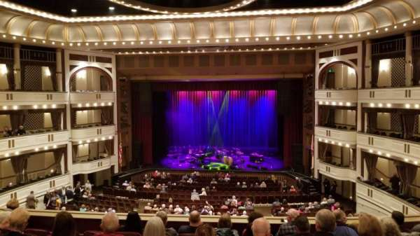 Mahaffey Theatre, section: Balcony C, row: 2, seat: 1