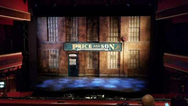 Adelphi Theatre, section: Dress Circle, row: D, seat: 18