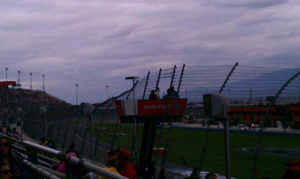 Auto Club Speedway, section: 7, row: 7, seat: 1