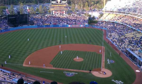 Dodger Stadium, section: 11, row: 9, seat: 3