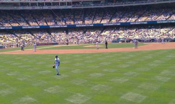 Dodger Stadium, section: 308PL, row: b, seat: 16-13