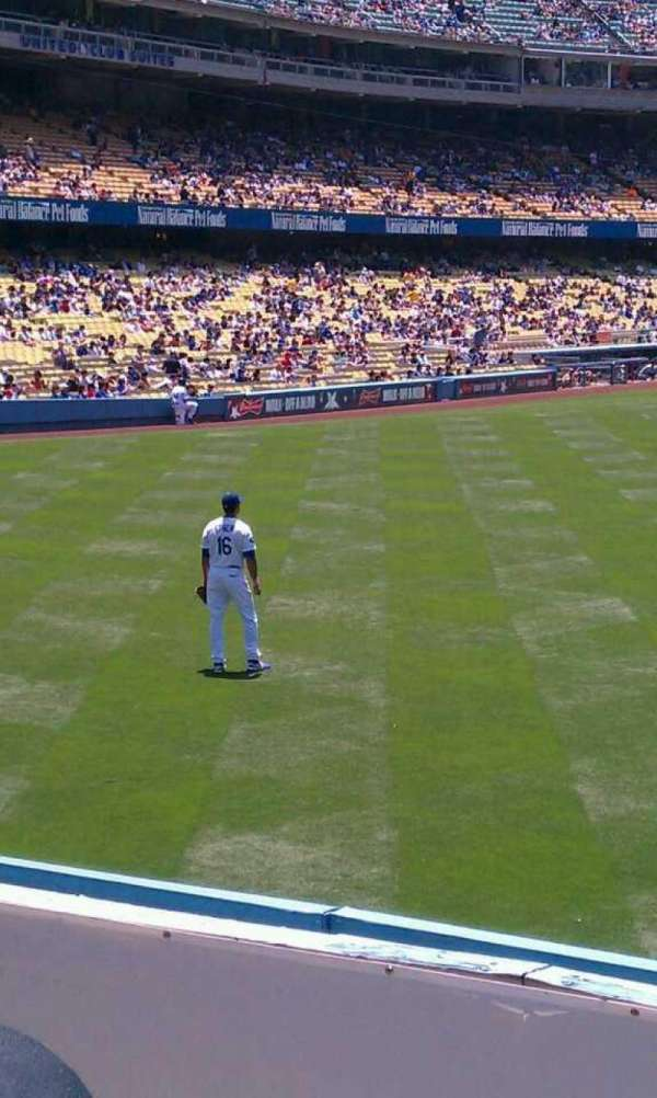 Dodger Stadium, section: 308PL, row: b, seat: 16