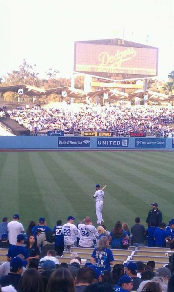Dodger Stadium, section: 43fd, row: s, seat: 1-2