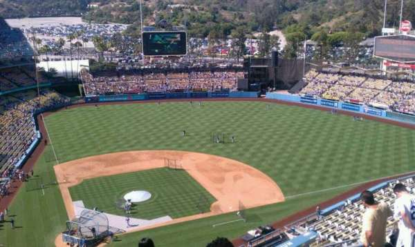 Dodger Stadium, section: 8TD, row: h, seat: 16