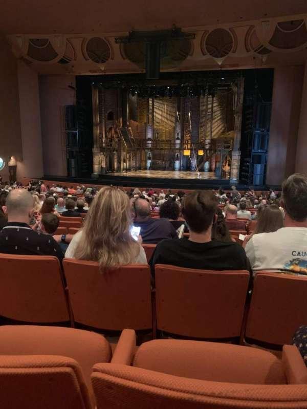 ASU Gammage, section: Orchestra, row: 20, seat: 24