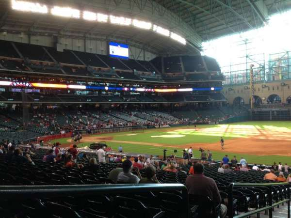 Minute Maid Park, section: 128, row: 31, seat: 1