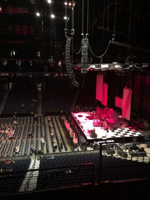 Bridgestone Arena, section: 210, row: F, seat: 2