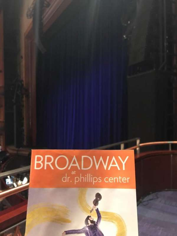 Walt Disney Theatre - Dr. Phillips Center, section: Box 2, row: 1, seat: 2