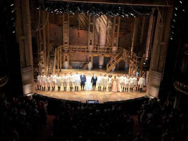 CIBC Theatre, section: Mezzanine LC, row: A, seat: 303