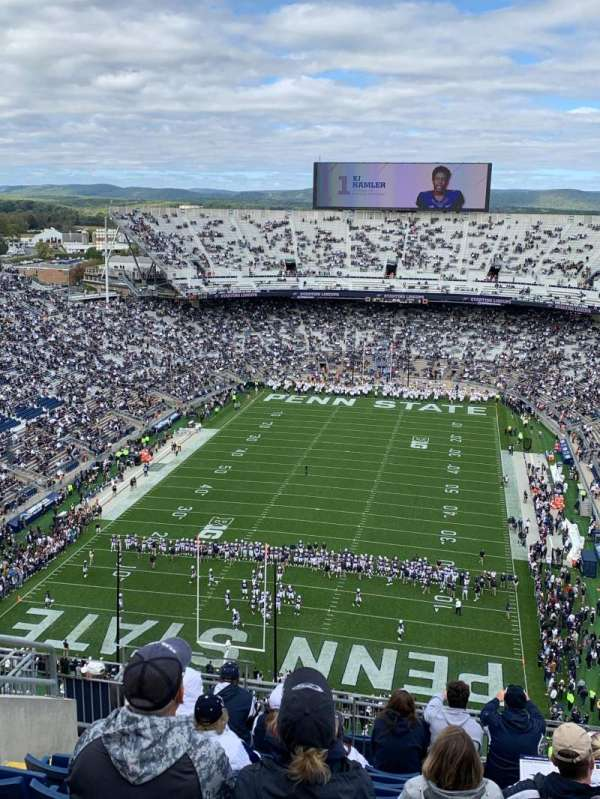 Beaver Stadium, section: SEU, row: 69, seat: 17
