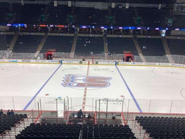 Spokane Arena, section: 204, row: 1, seat: 12