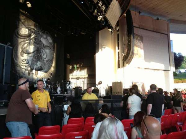PNC Bank Arts Center, section: 104, row: G, seat: 15