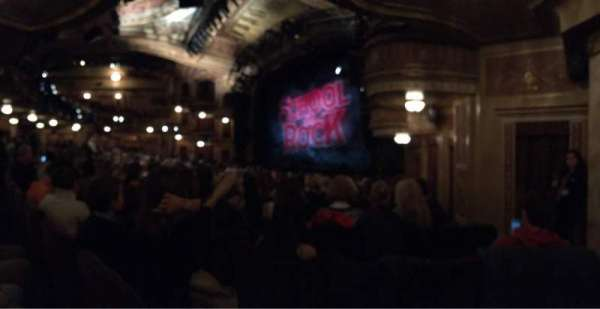 Winter Garden Theatre, section: Orchestra R, row: P, seat: 40
