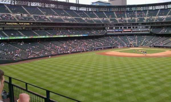 Coors Field, section: 202, row: 2, seat: 4