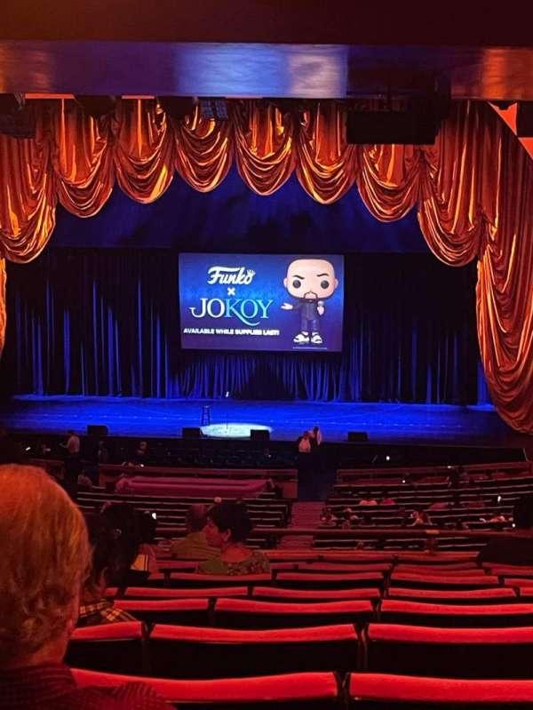 Radio City Music Hall, section: 1st Mezzanine 3, row: L, seat: 307