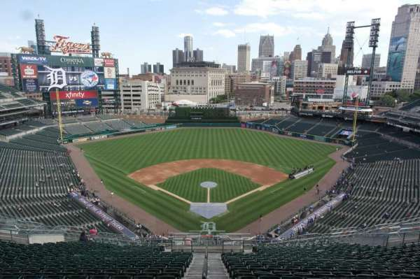 Comerica Park, section: 115, row: 16, seat: 1