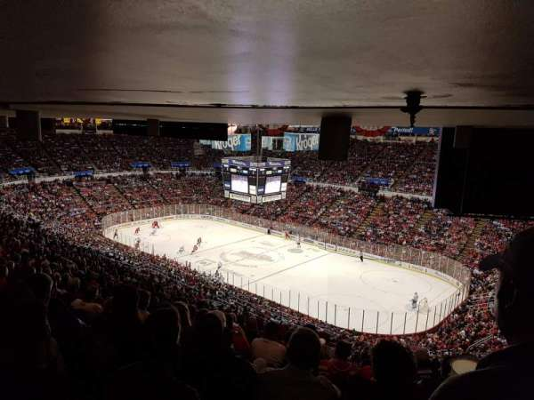 Joe Louis Arena, section: 218A, row: 27, seat: 1