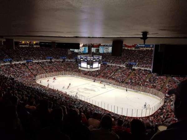Joe Louis Arena, section: 218A, row: 27, seat: 1