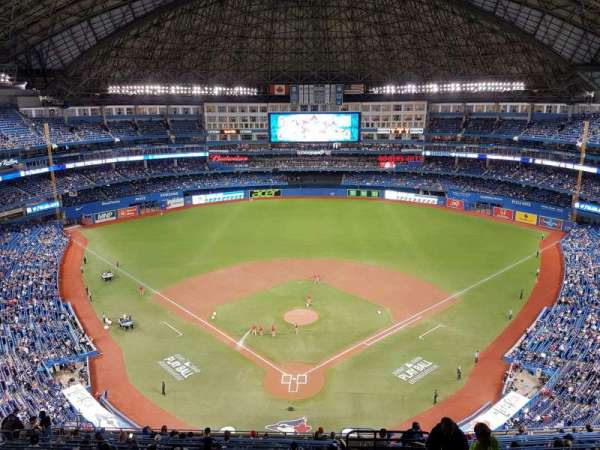 Rogers Centre, section: 524al, row: 18, seat: 101