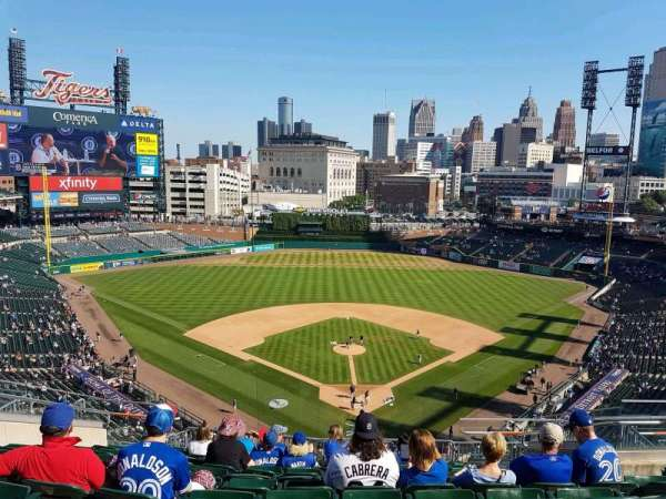 Comerica Park, section: 328, row: 11, seat: 12