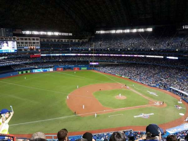Rogers Centre, section: 532R, row: 9, seat: 2