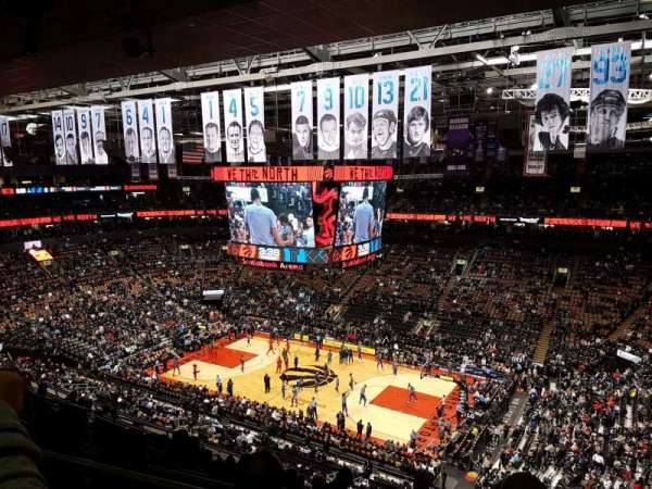 Scotiabank Arena, section: 307, row: 11, seat: 14
