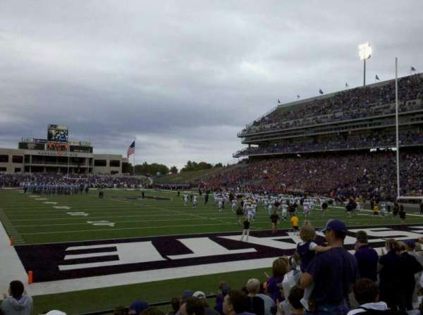 Bill Snyder Family Stadium, section: 13, row: 11, seat: 20