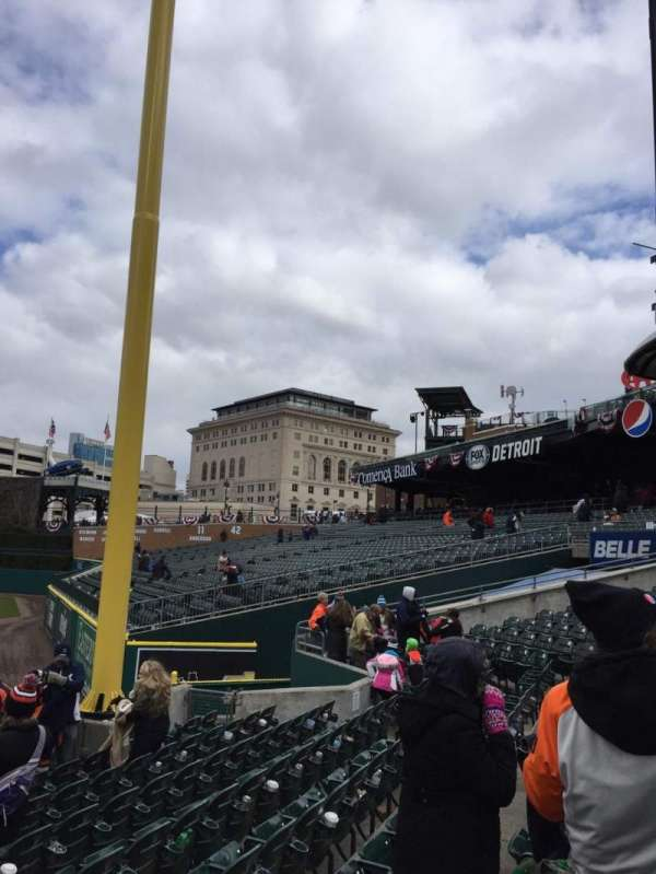 Comerica Park, section: 112, row: 25, seat: 21