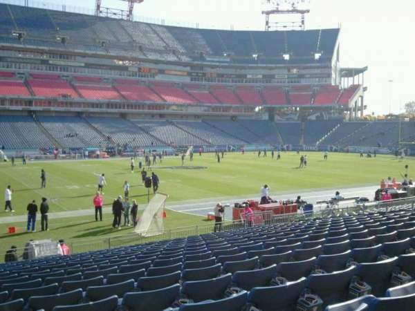Nissan Stadium, section: 137, row: S, seat: 23
