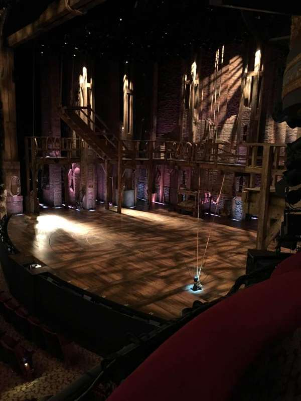 Richard Rodgers Theatre, section: Box D, seat: 3