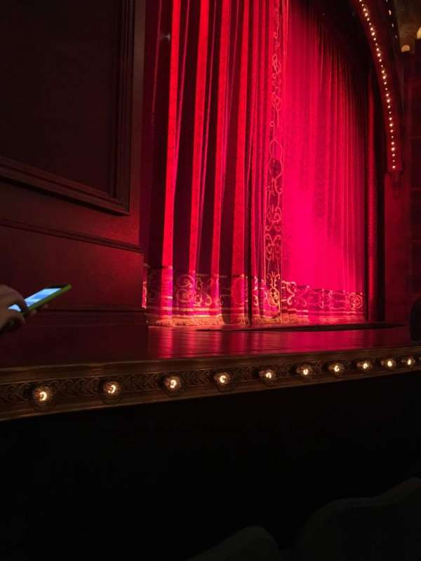 Shubert Theatre, section: Orchestra L, row: C, seat: 13