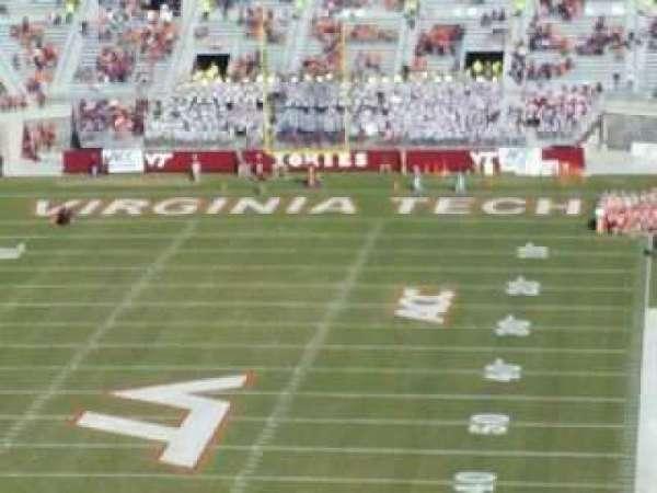 Lane Stadium, section: 503, row: DD, seat: 23