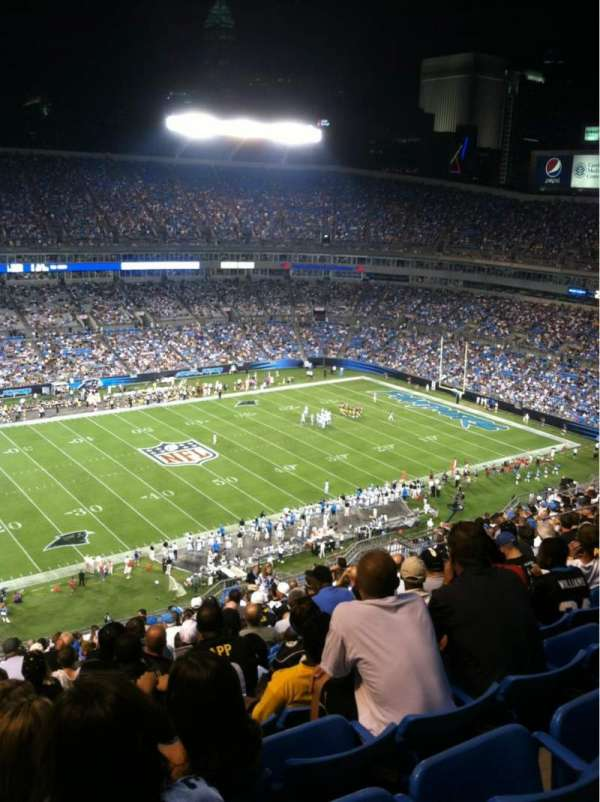 Bank of America Stadium, section: 544