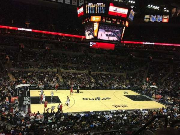 AT&T Center, section: 109, row: 30, seat: 5