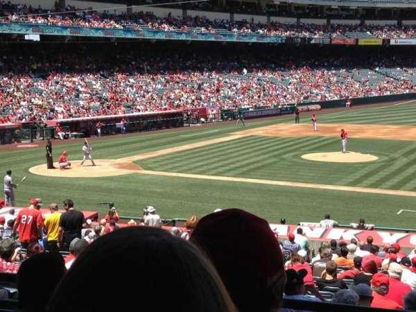 Angel Stadium, section: T223, row: D, seat: 25