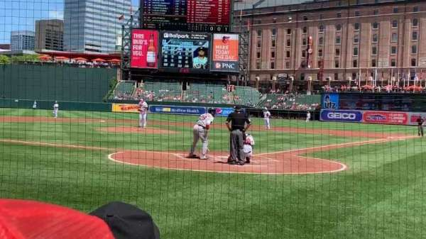 Oriole Park at Camden Yards, section: 40, row: 4, seat: 6