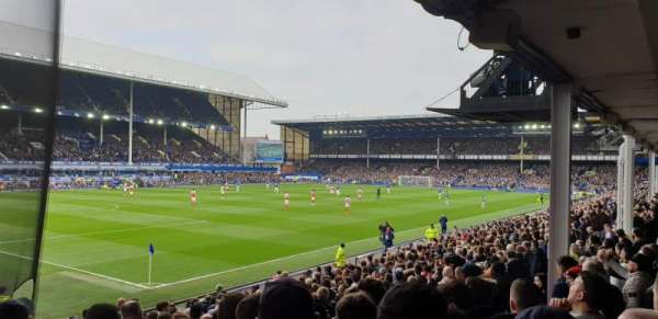 Goodison Park, section: LV1, row: H, seat: 8