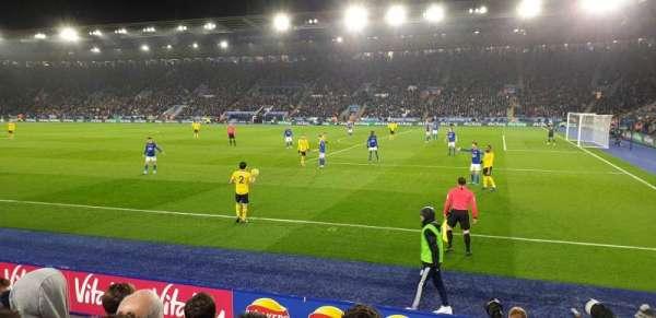 King Power Stadium, section: M4, row: E, seat: 322