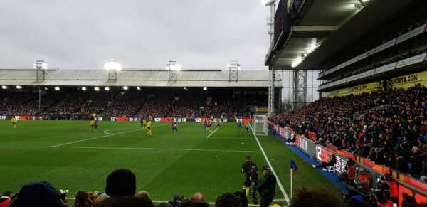 Selhurst Park, section: R, row: 10, seat: 13