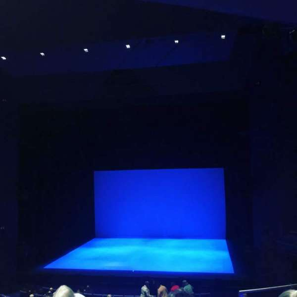 The Lowry, section: Circle, row: F, seat: 11