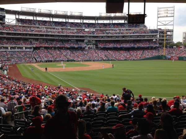 Nationals Park, section: 137, row: SS, seat: 26