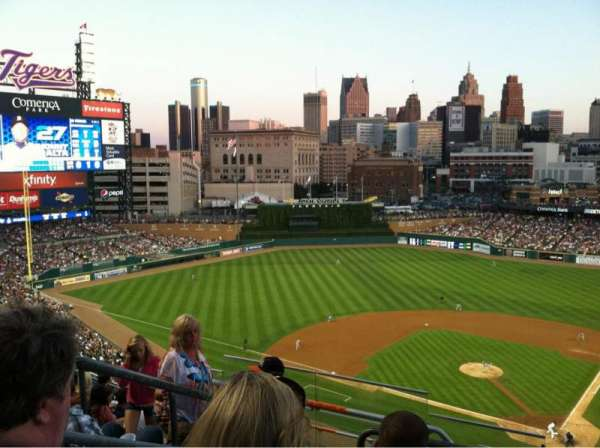Comerica Park, section: 330, row: 9, seat: 18