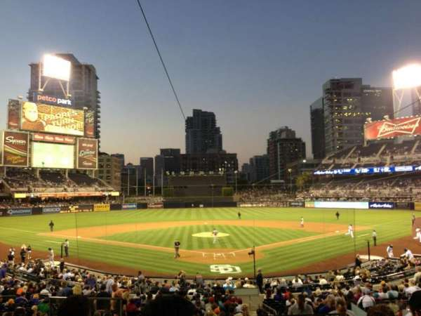Petco Park, section: 102, row: 6, seat: 1