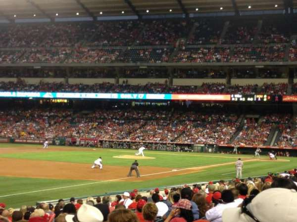 Angel Stadium, section: F107, row: S, seat: 6