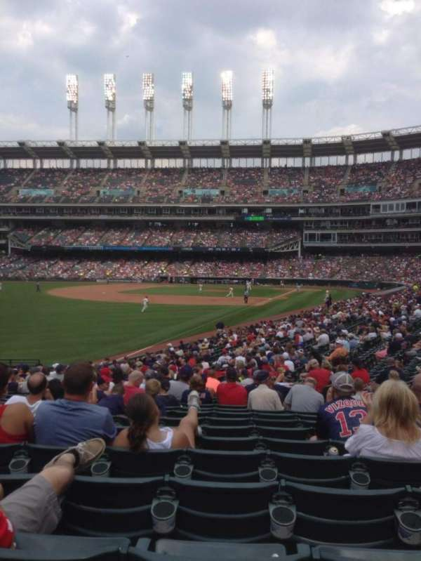Progressive Field, section: 178, row: CC , seat: 9