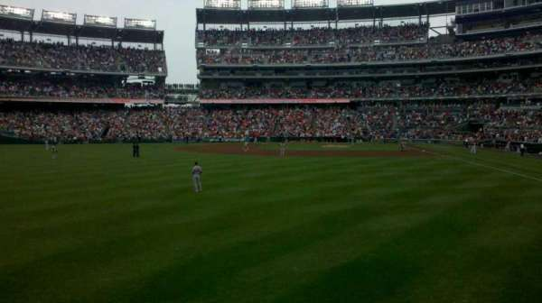 Nationals Park, section: 105, row: a, seat: 16