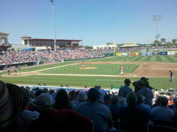BayCare Ballpark, section: 105, row: 14, seat: 5